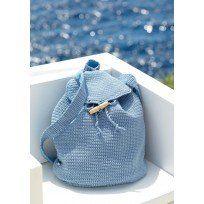 Sirdar Cotton DK crochet bag patterns 7738