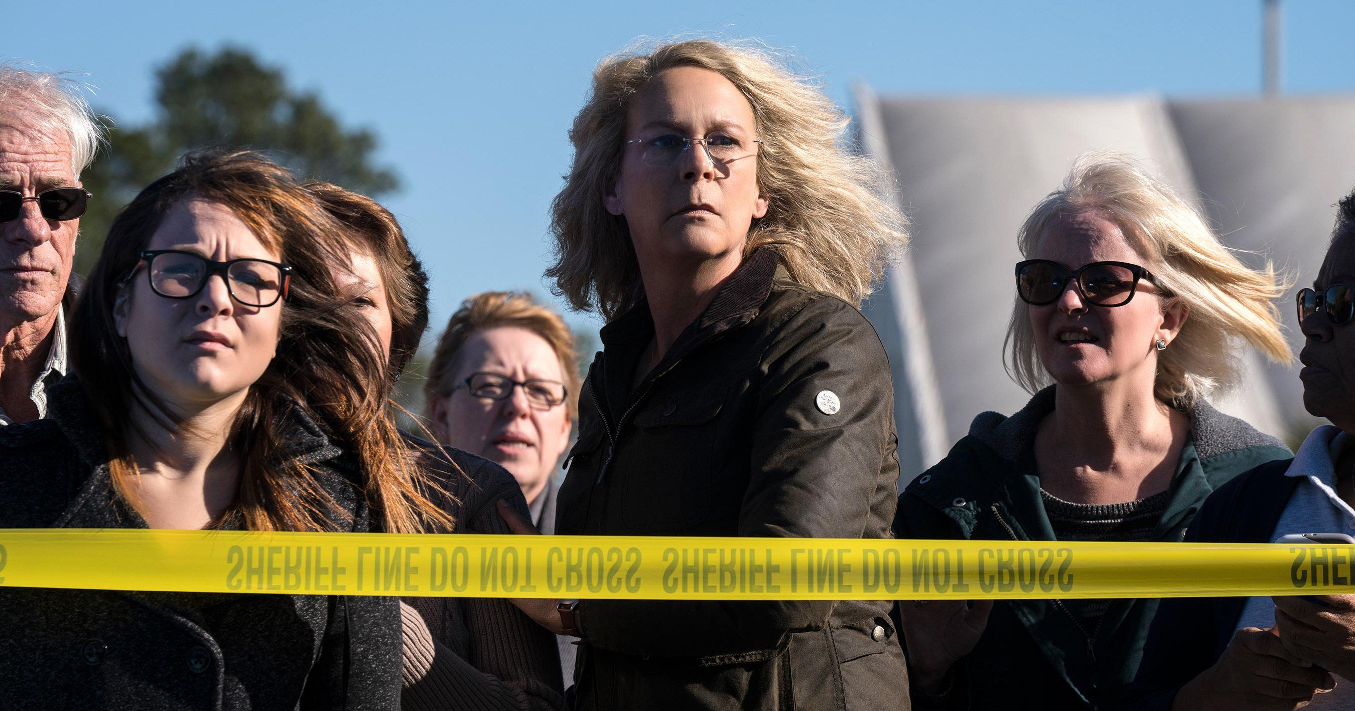 Halloween clip Laurie Strode relives the horrors of 40