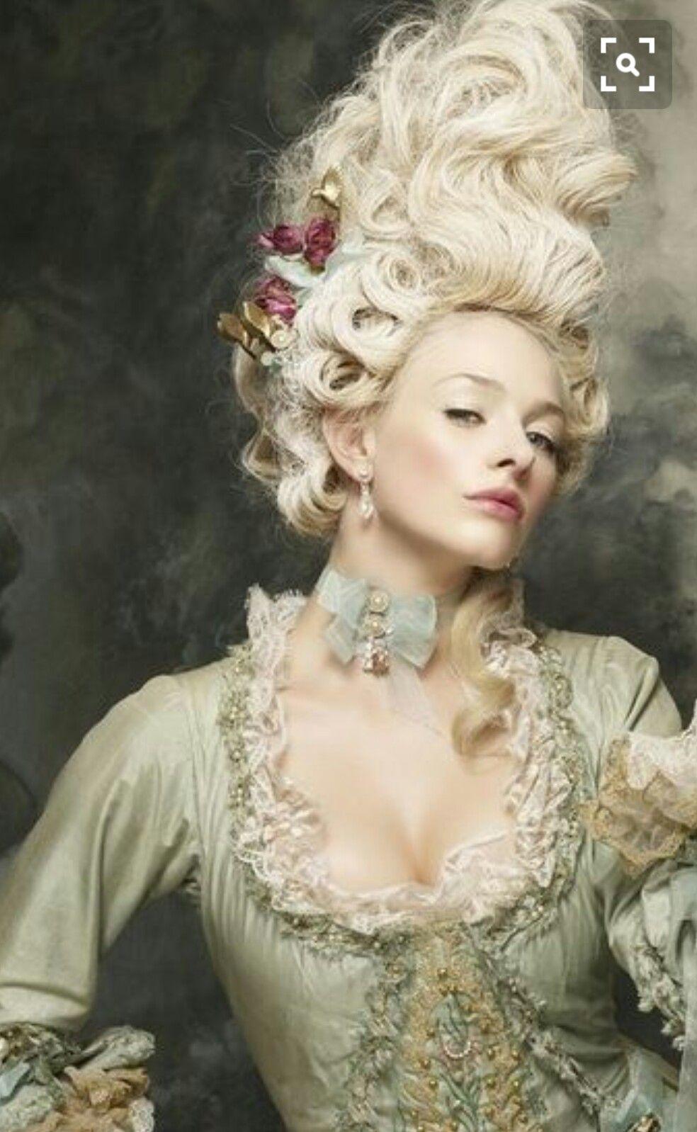 Marie Mode baroque, Mode rococo et Marie