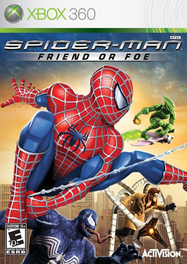 Pin By Nicholas Vos On Xbox 360 Games I Like Spiderman Foe Man Games