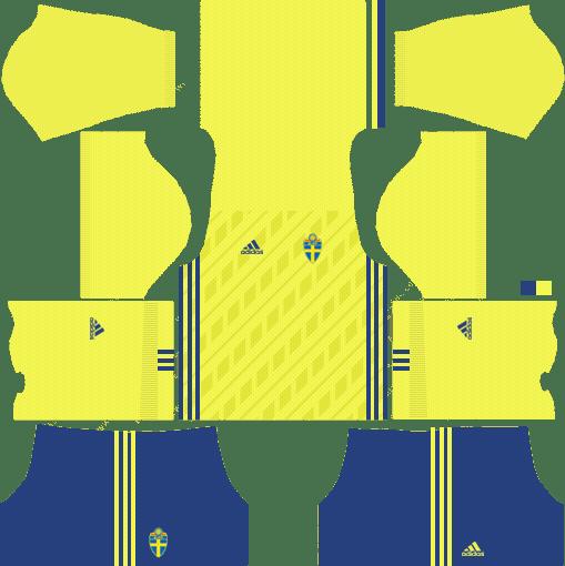 Sweden Fifa World Cup 2018 Dream League Soccer Kits In 2020 Soccer Kits Fifa World Cup World Cup Kits