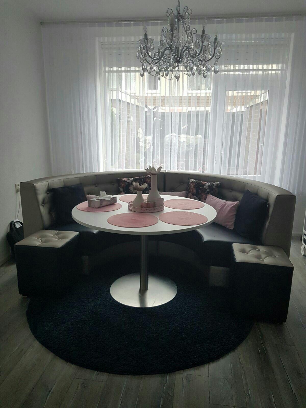 Eetkamerbank Eettafel bank Ronde Eet bank Eetkamer meubels ...
