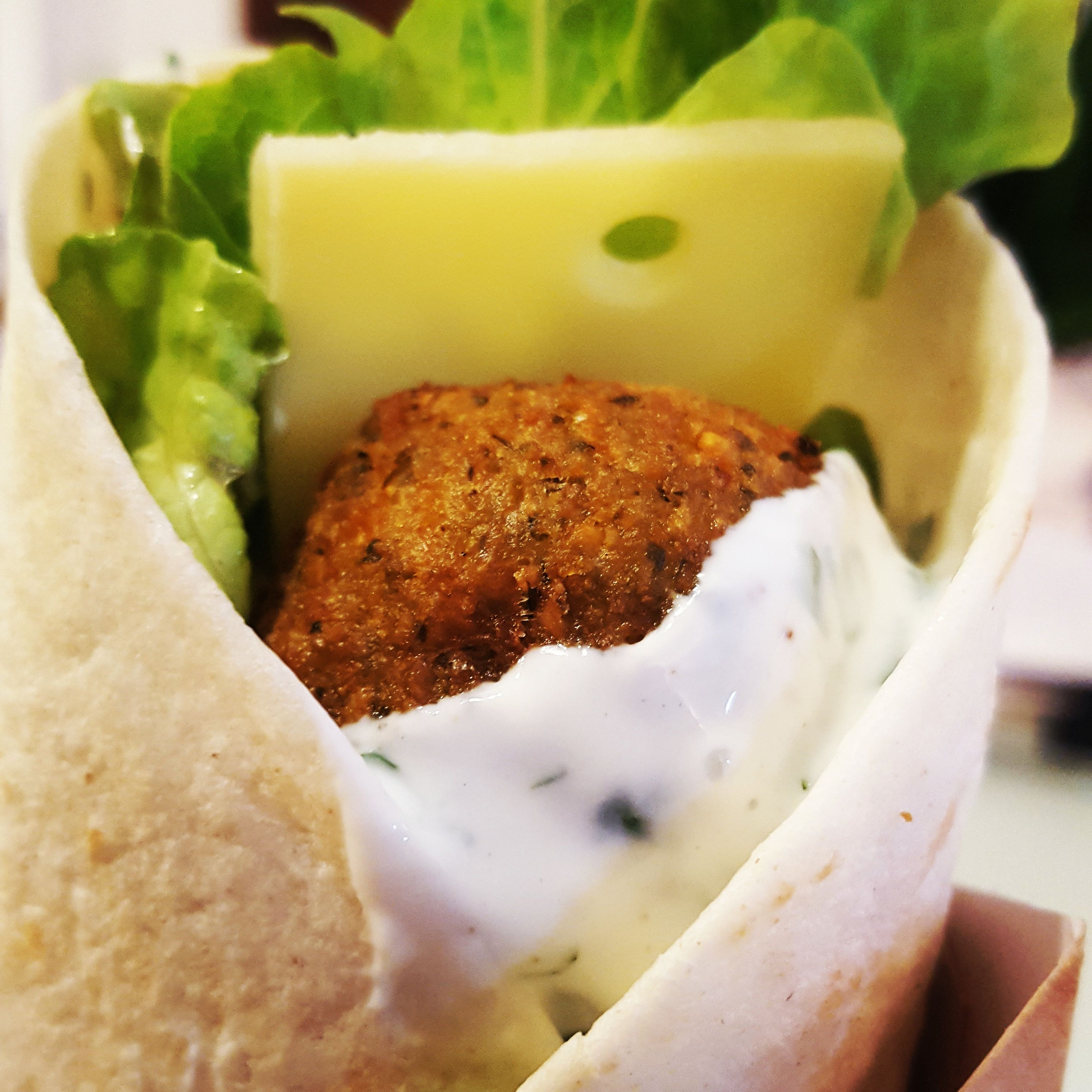 Wrap veg falafels&fromage | Fromage