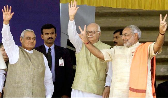 रामजन्मभूमि आंदोलन से राजनीति में हाशिये से शिखर तक पहुंची