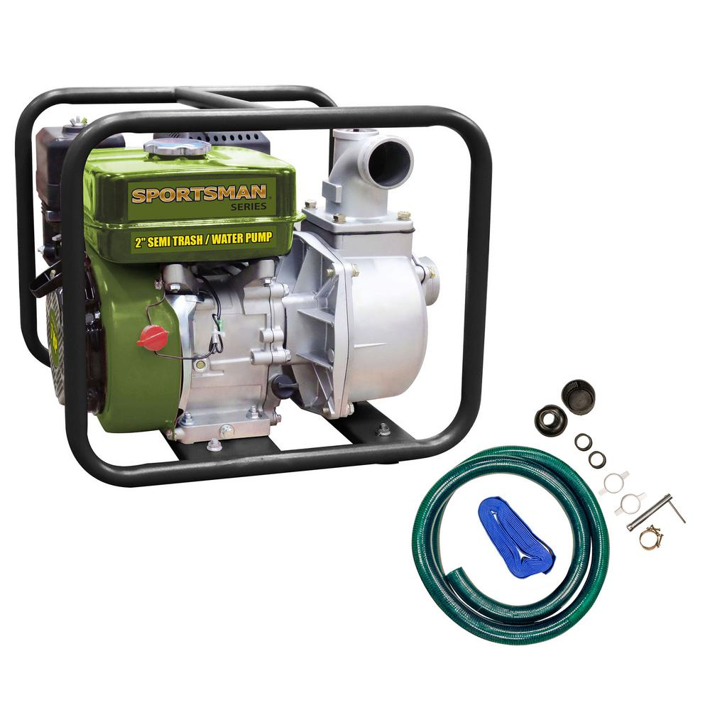 Sportsman 7 HP Gas-Powered Semi Trash / Water Transfer Pump