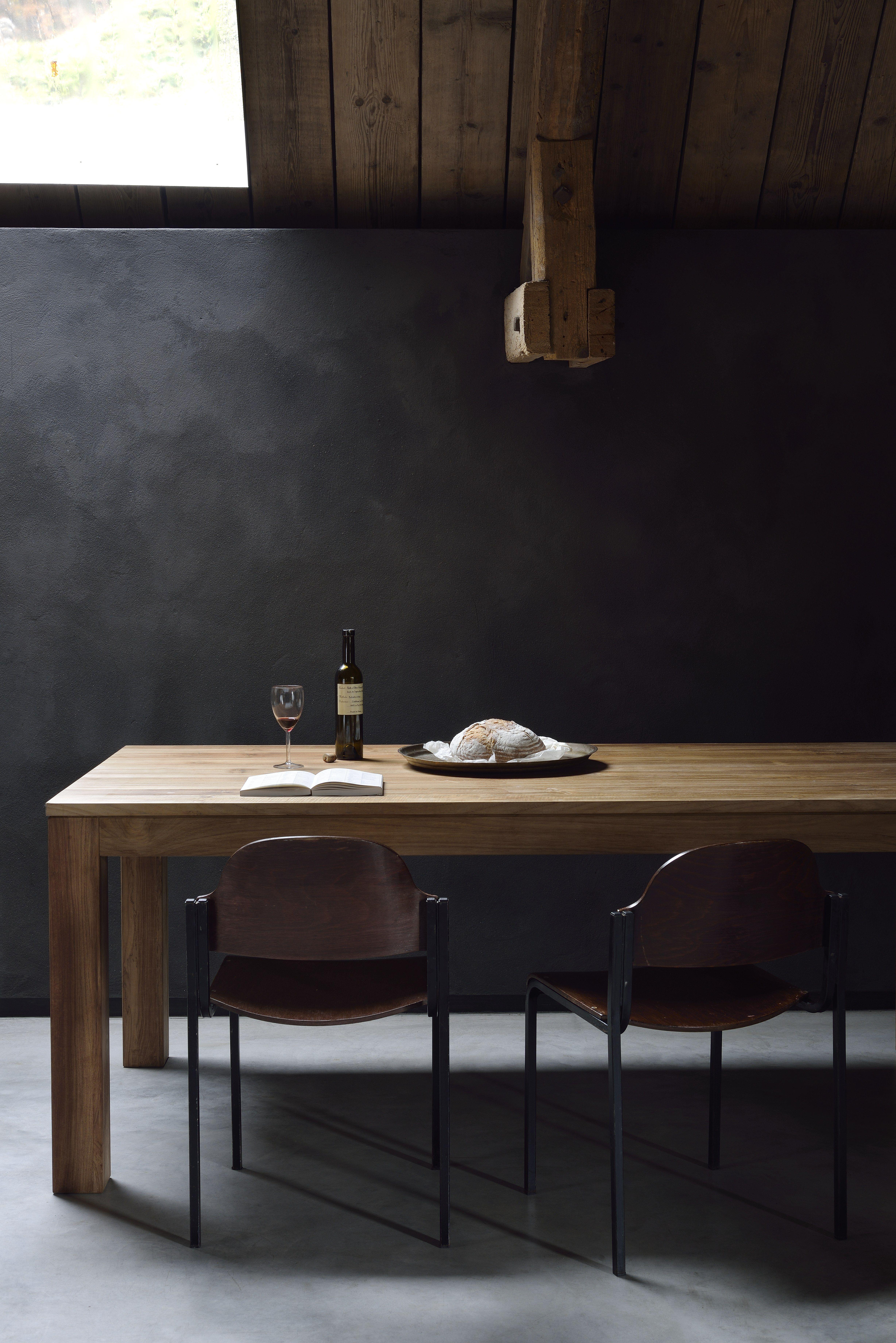 New From The Ethnicraft 2017 Novelties The Kubus Table Ethnicraft Solidwood Interiordesign Designfurniture Design Interio Mesas Decoracion De Unas Teca