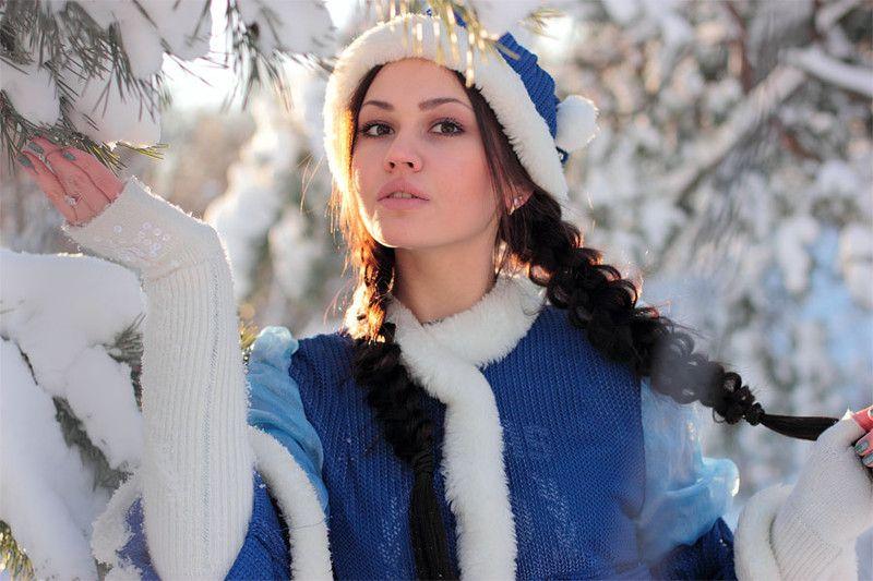 Снегурочка фотосессия работа для девушек в челнах