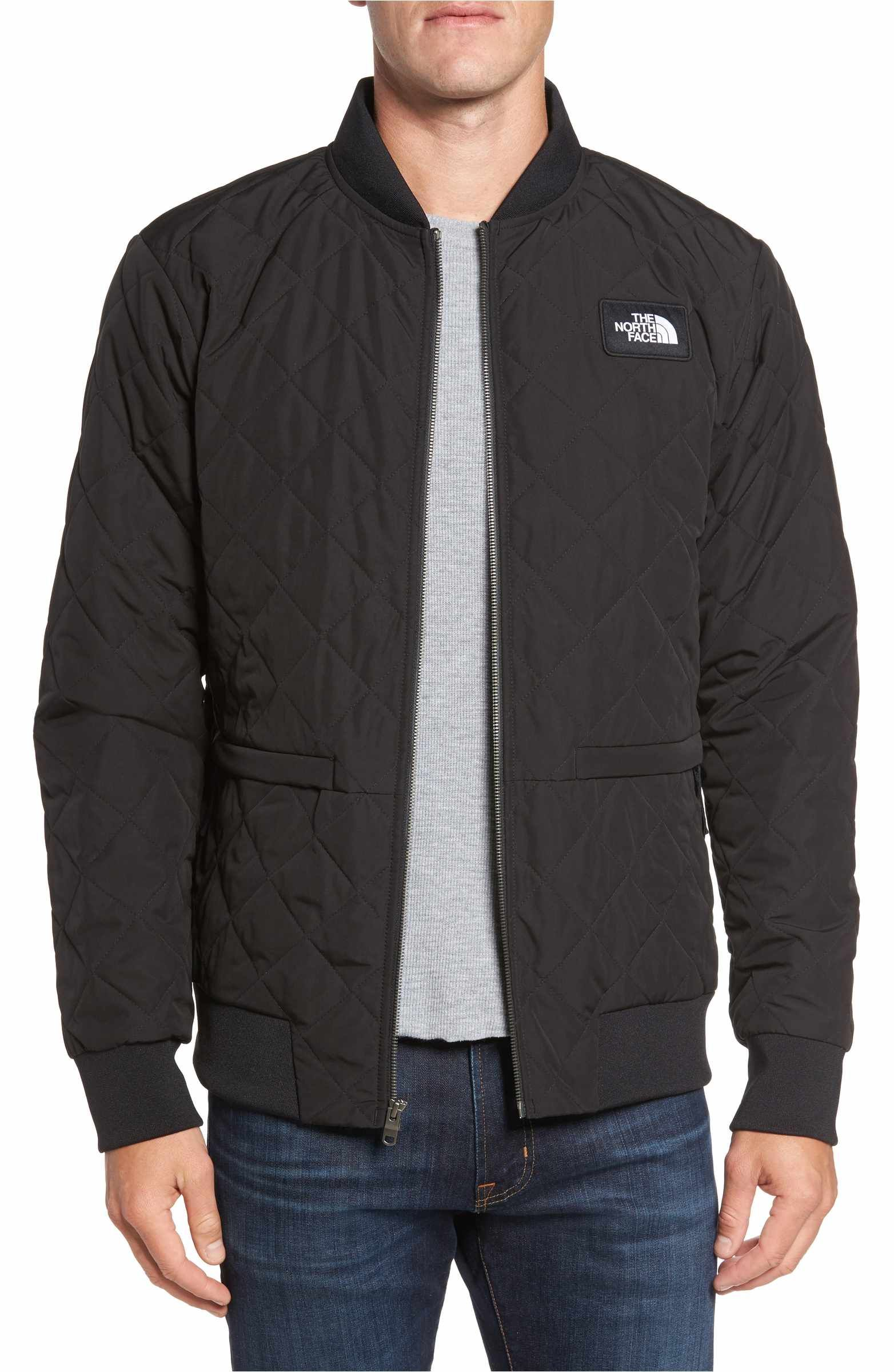 The North Face Distributor Quilted Bomber Jacket Nordstrom Quilted Bomber Jacket Jackets Bomber Jacket [ 2400 x 1564 Pixel ]