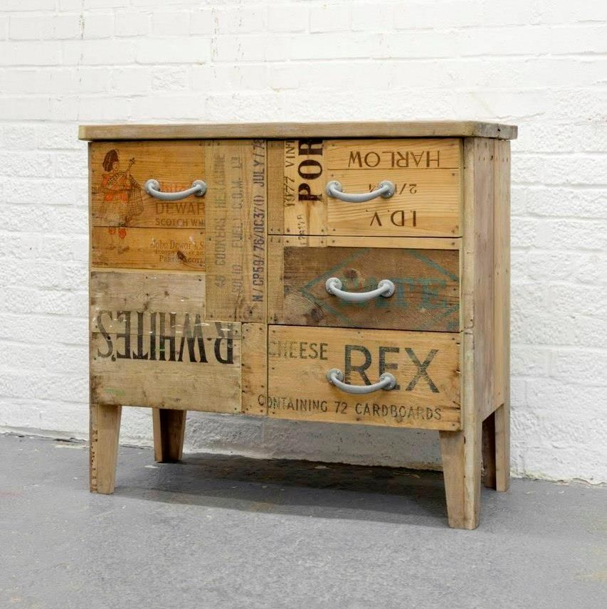 Crate Cabinet Crate Furniture Diy Furniture