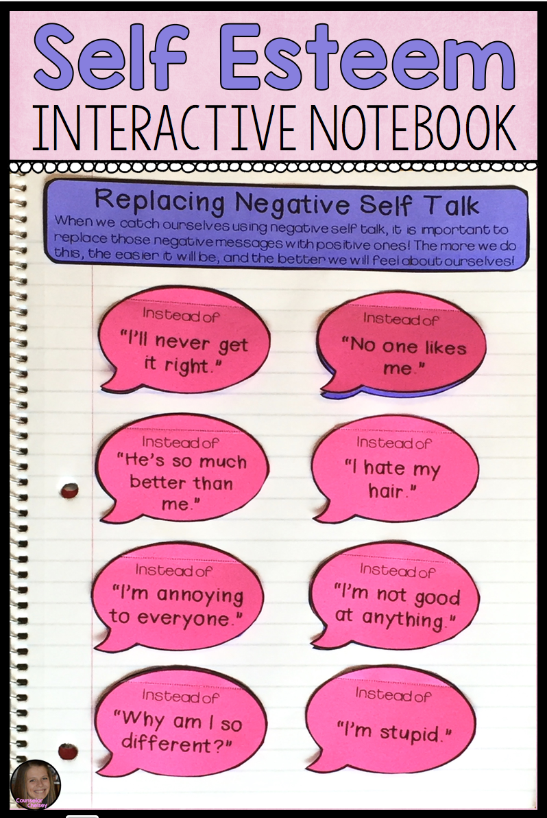 Self Esteem Activities For Sel And Counseling Interactive Notebooks Self Esteem Activities Self Esteem Kids Self Esteem Worksheets [ 1192 x 798 Pixel ]