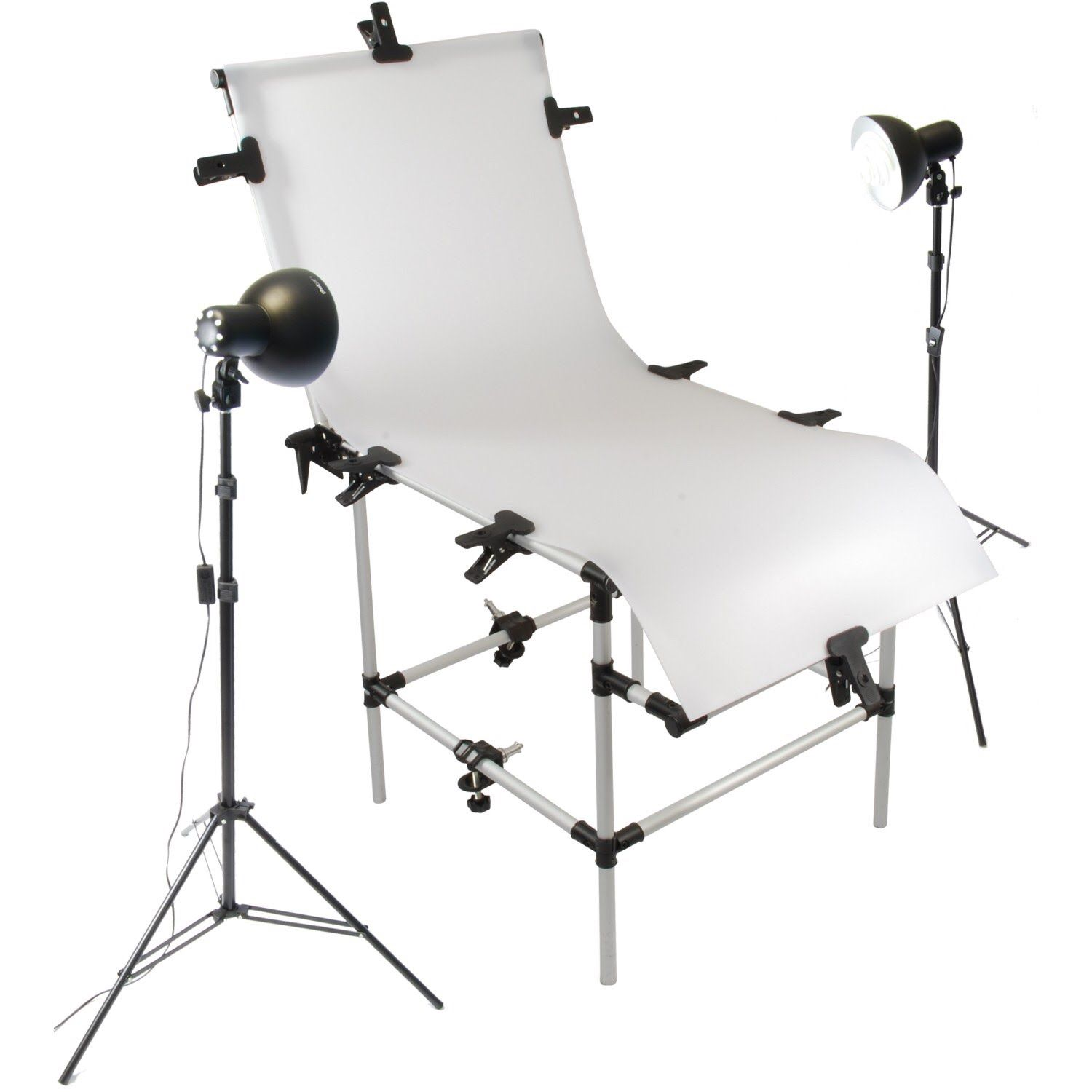 Product Photography How To Assemble A Photo Studio Shooting Table Photography Studio Setup Photo Studio Studio Setup