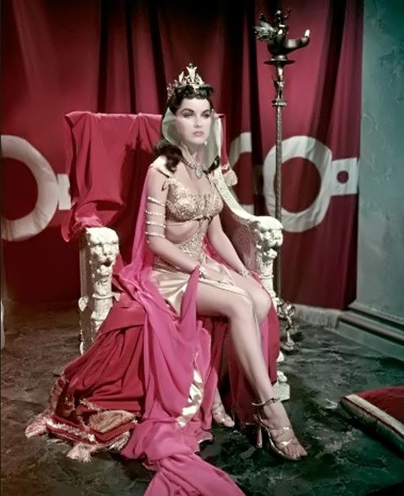 Debra Paget Fritz Lang S Das Indische Grabmal 1959
