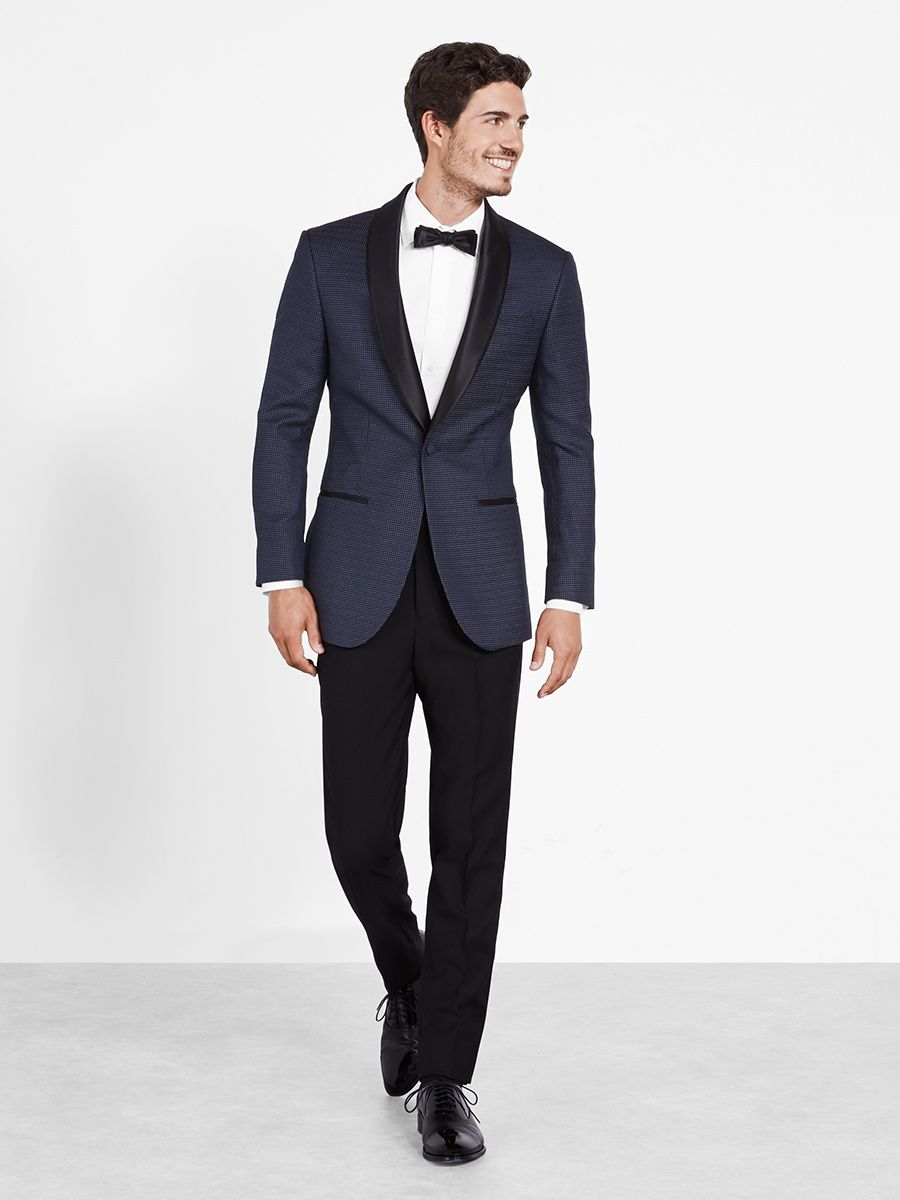 The Black Tux - Midnight Pin Dot Tuxedo | Tuxedos | Pinterest ...
