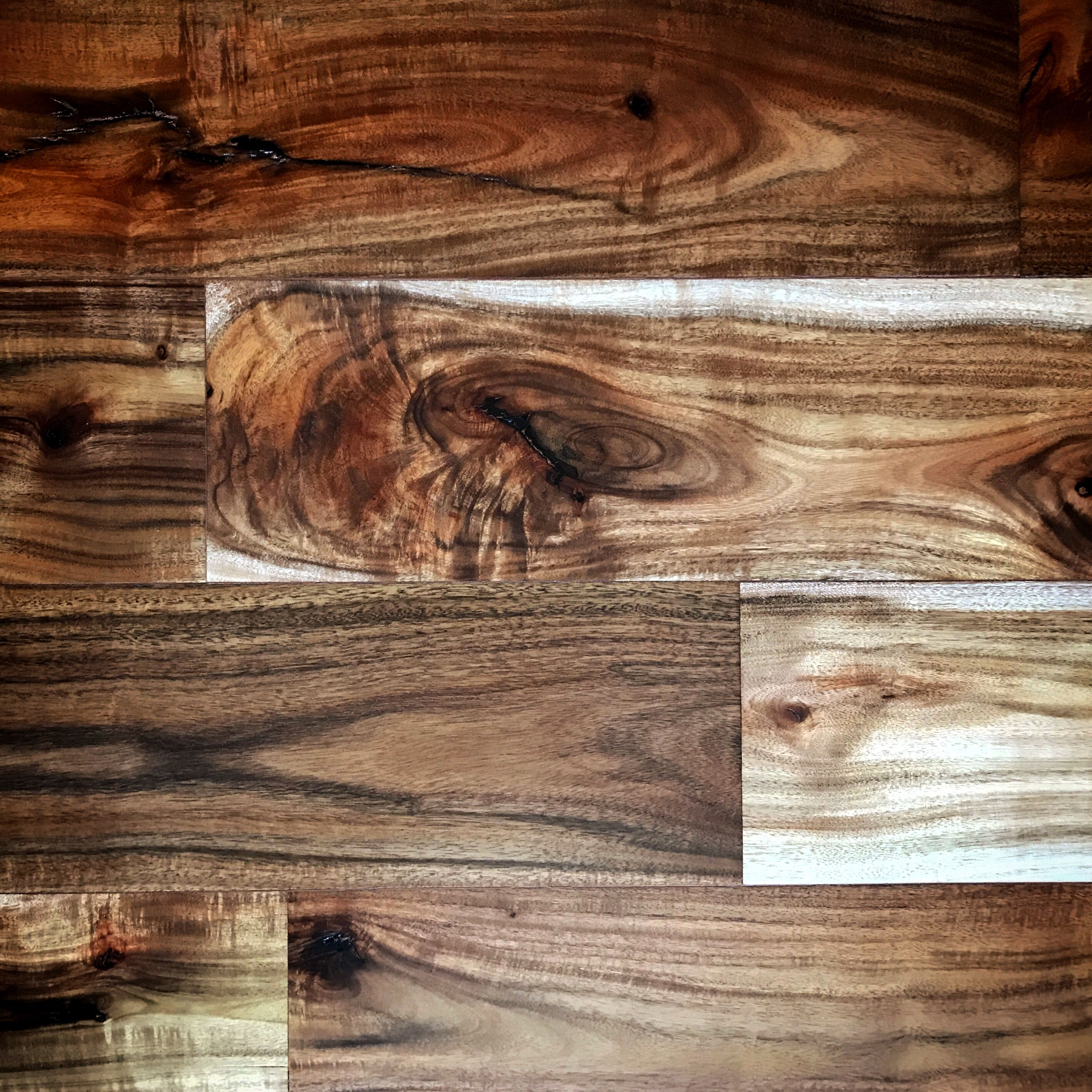 Acacia Hardwood Flooring And Wall