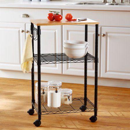 Mainstays Kitchen Island Cart Multiple Finishes Kitchen Island Cart Breakfast Bar Kitchen Island Kitchen Island