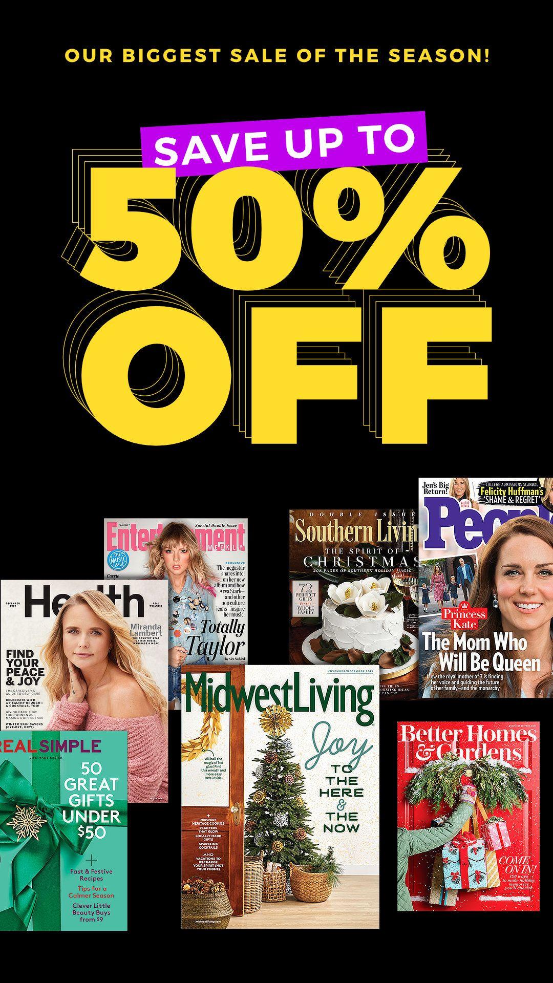 Black Friday Sale Magazine Deals Black Friday Sale Black Friday