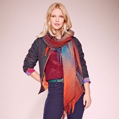 Another look with a shawl or large scarf. ~~  fashion and style for women over 50 - Bing Images