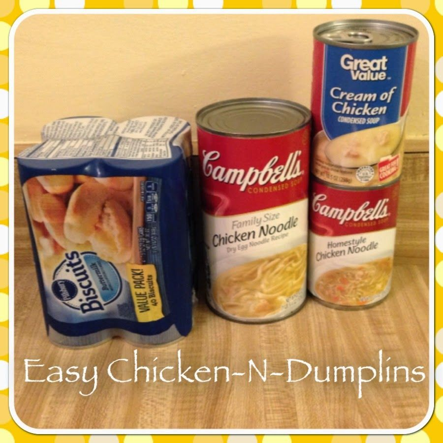 Easy Chicken -N- Dumplins Recipe from Completely Kara