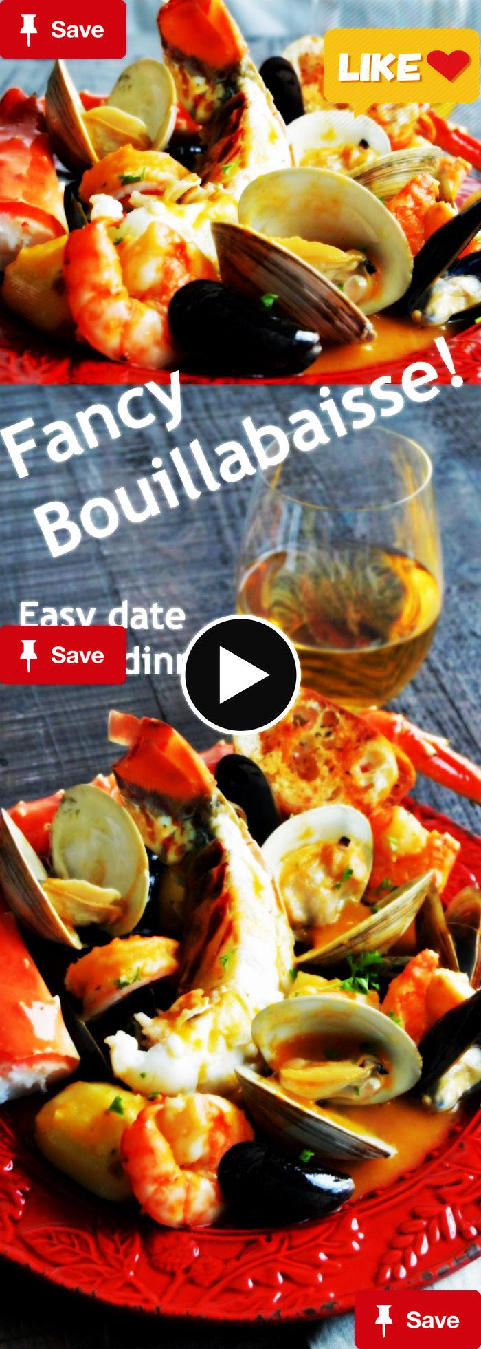 ancy shellfish, lobster crab, shrimp mussels and crab in a very flavorful homemade broth that can be on the table in less than 45 minutes! via Michele ~ West Via Midwest