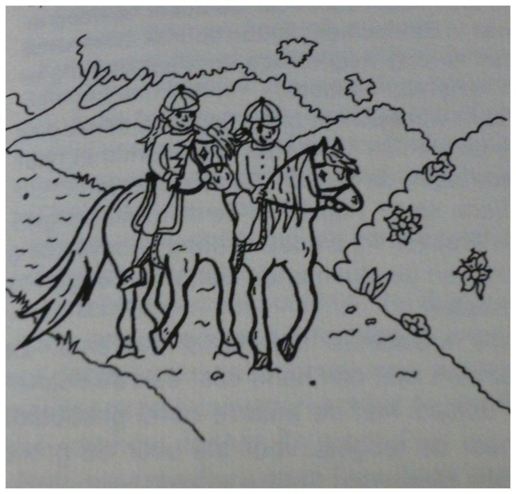Britt En Esra Het Avontuur Met Het Zadel Recensie Avontuur Zadel Paarden