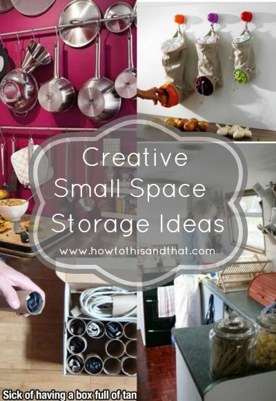 Creative Small Space Storage Ideas You Have To See Small Space Storage Small Space