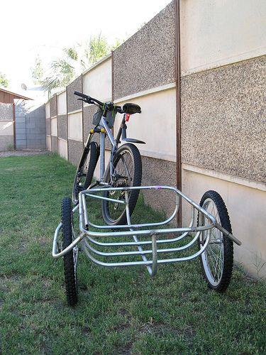 Diy Trailer Fahrrad Fahrrad Fahren Liegerad