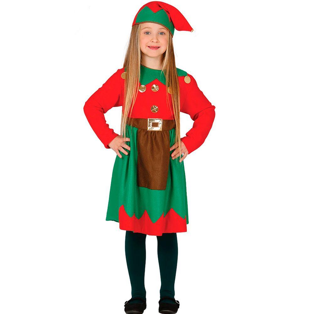 Disfraz elfa infantil disfraces de elfos y duendes - Disfraz navideno nina ...