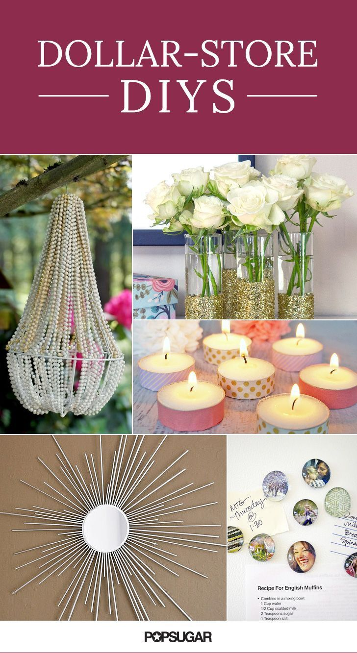 36 Dollar-Store DIY Projects to Try Out | Frugal Living ...