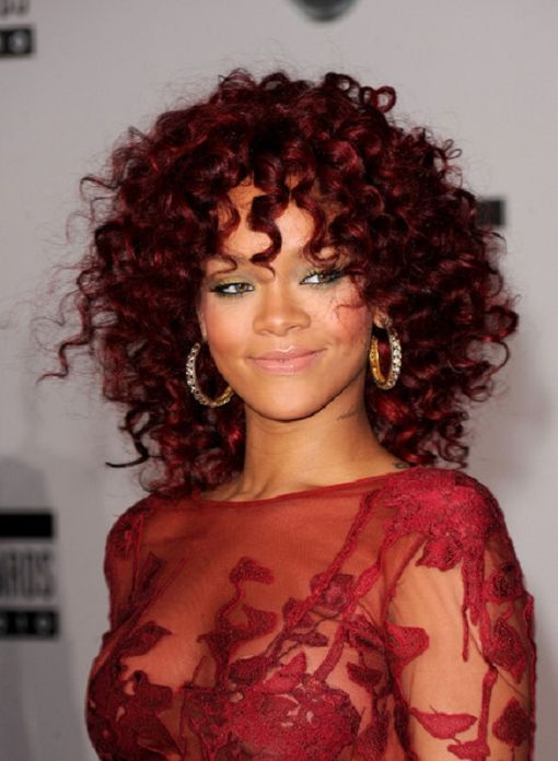Dark Red Hair Color On Black Women Find Lots Of Fabulous Short
