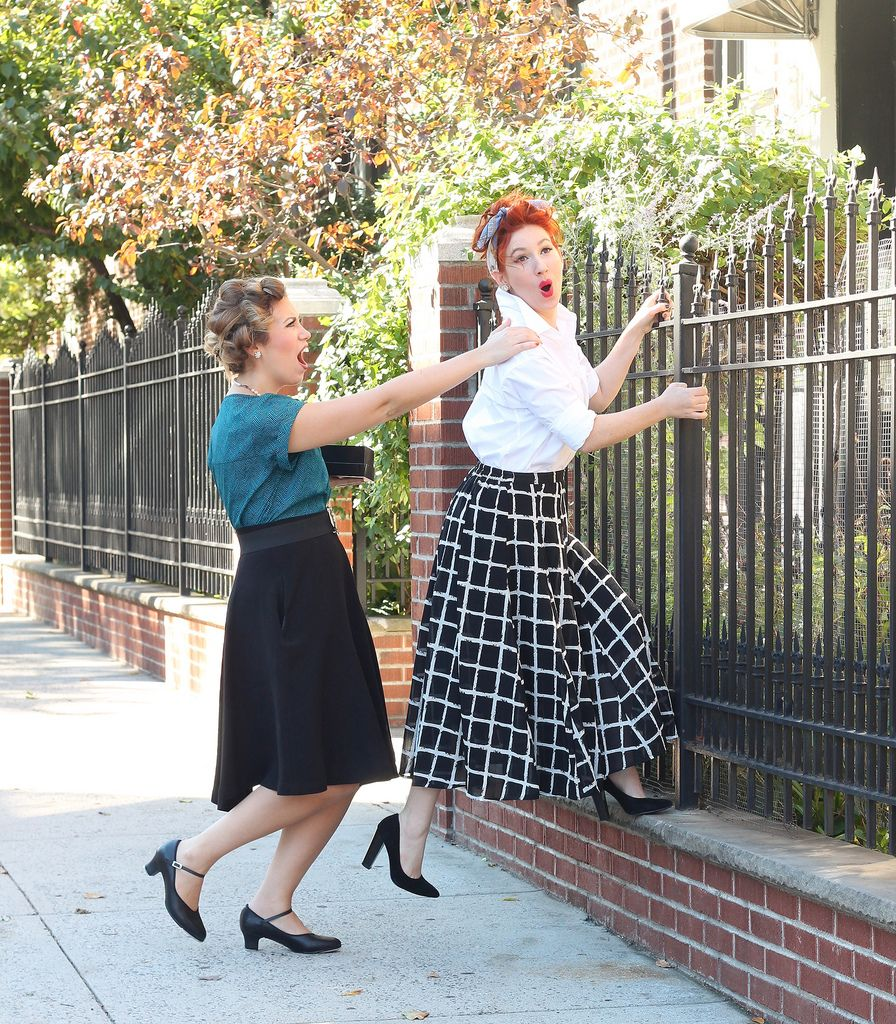 easy lucy ethel halloween costumes from your closet last minute costume i love - I Love Lucy Halloween Costumes