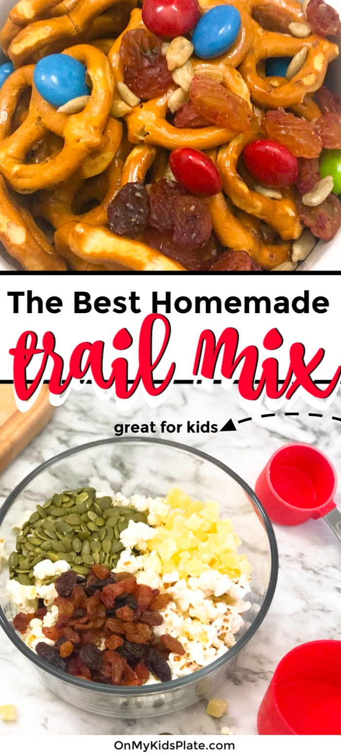 The Very Best Homemade Trail Mix