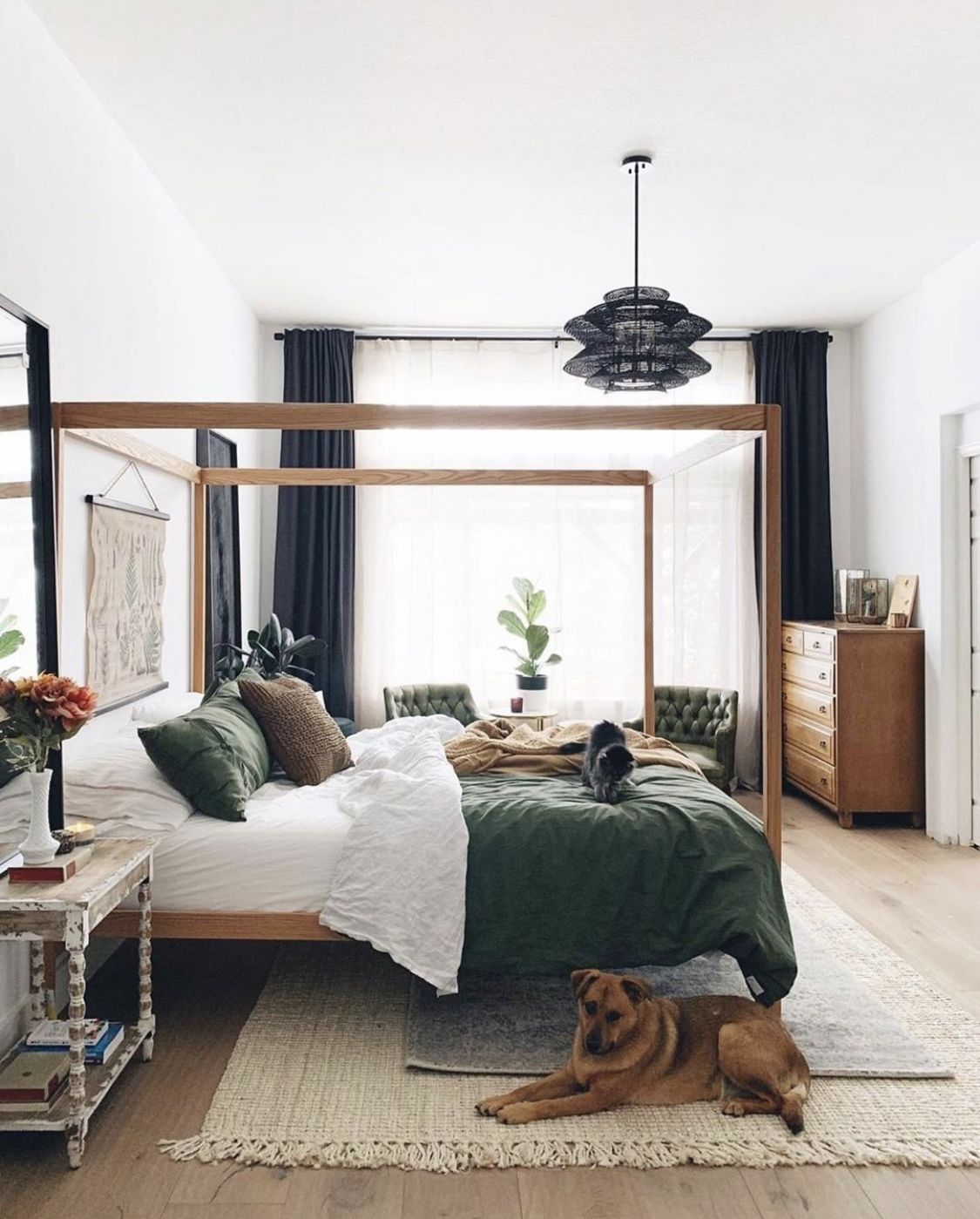 Pin by Can She on h o m e in 2020 Earthy bedroom, Home