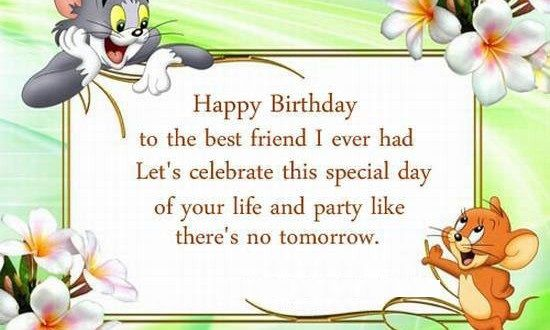 Funny Birthday Wishes For Best Friend Male And Female Best