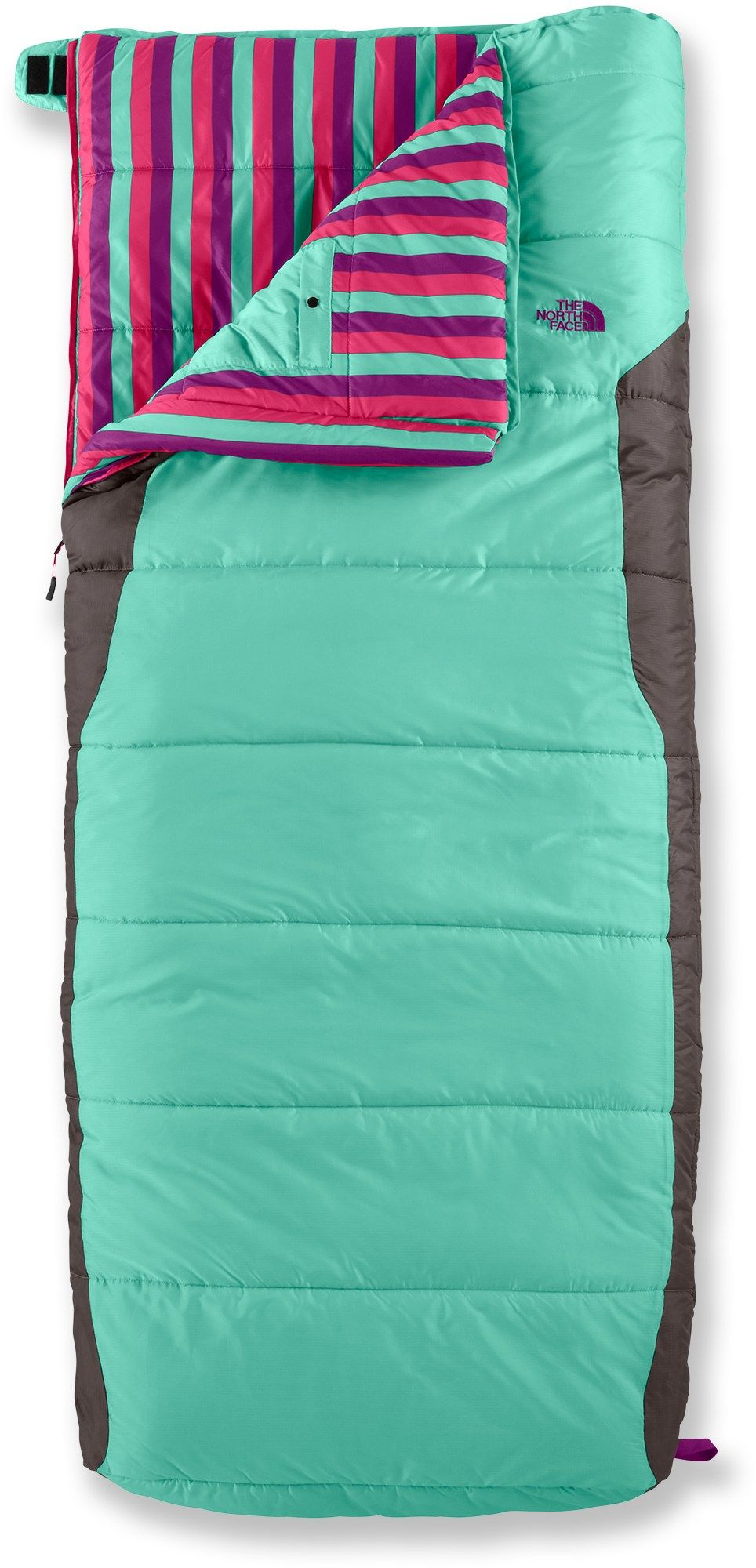 Keep The Kiddos Warm In This Colorful Sleeping Bag From North Face