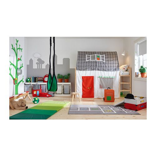 Kura Reversible Bed Ikea Turned Upside Down The Bed Quickly Converts From A Low To A High Bed Kids Room Inspiration Ikea Kura Bed Ikea Kids Room