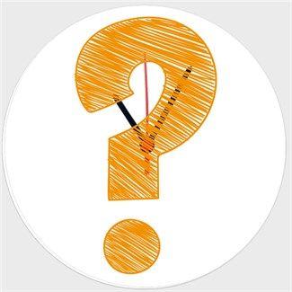 Cevapsız Sorular Kendin Tasarla - Duvar Saati 27cm