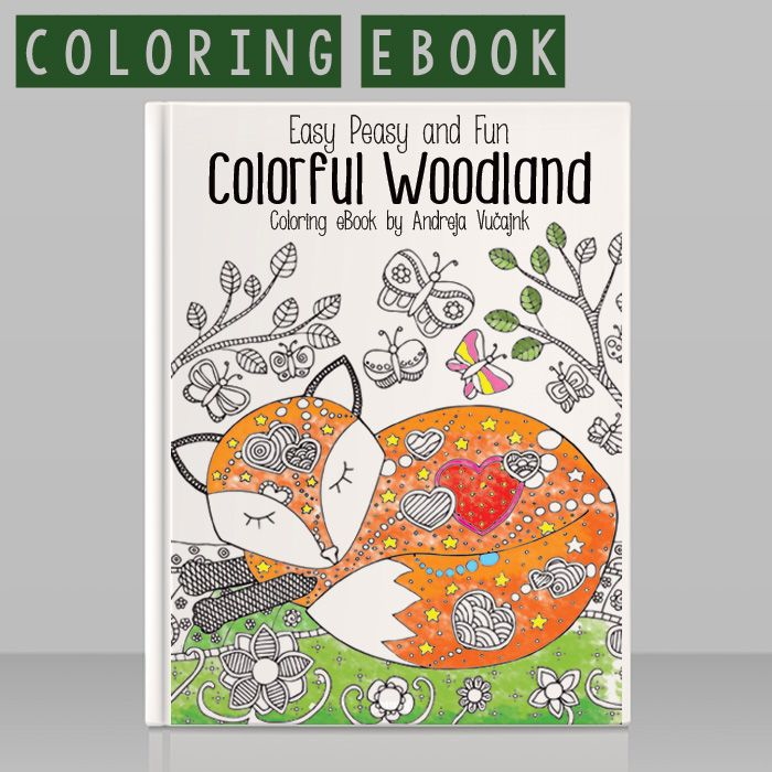 Forest Animals Coloring Pages | Easy peasy, Easy and Adult coloring