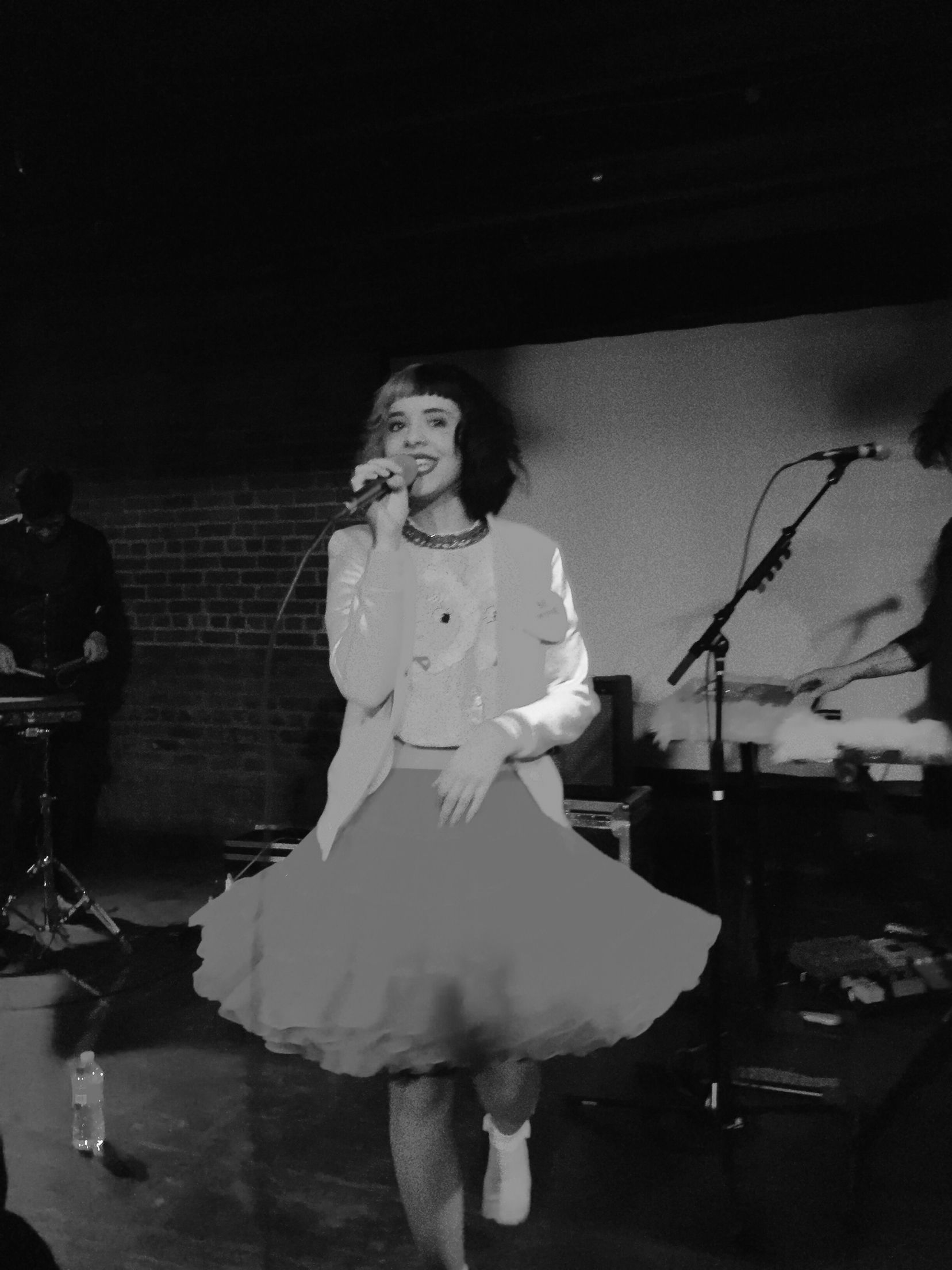 Melanie at The Shelter in Detroit photo credit Cassidy