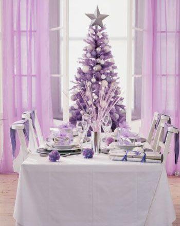 Lilac Christmas Purple Christmas Tree Purple Christmas Christmas Colors
