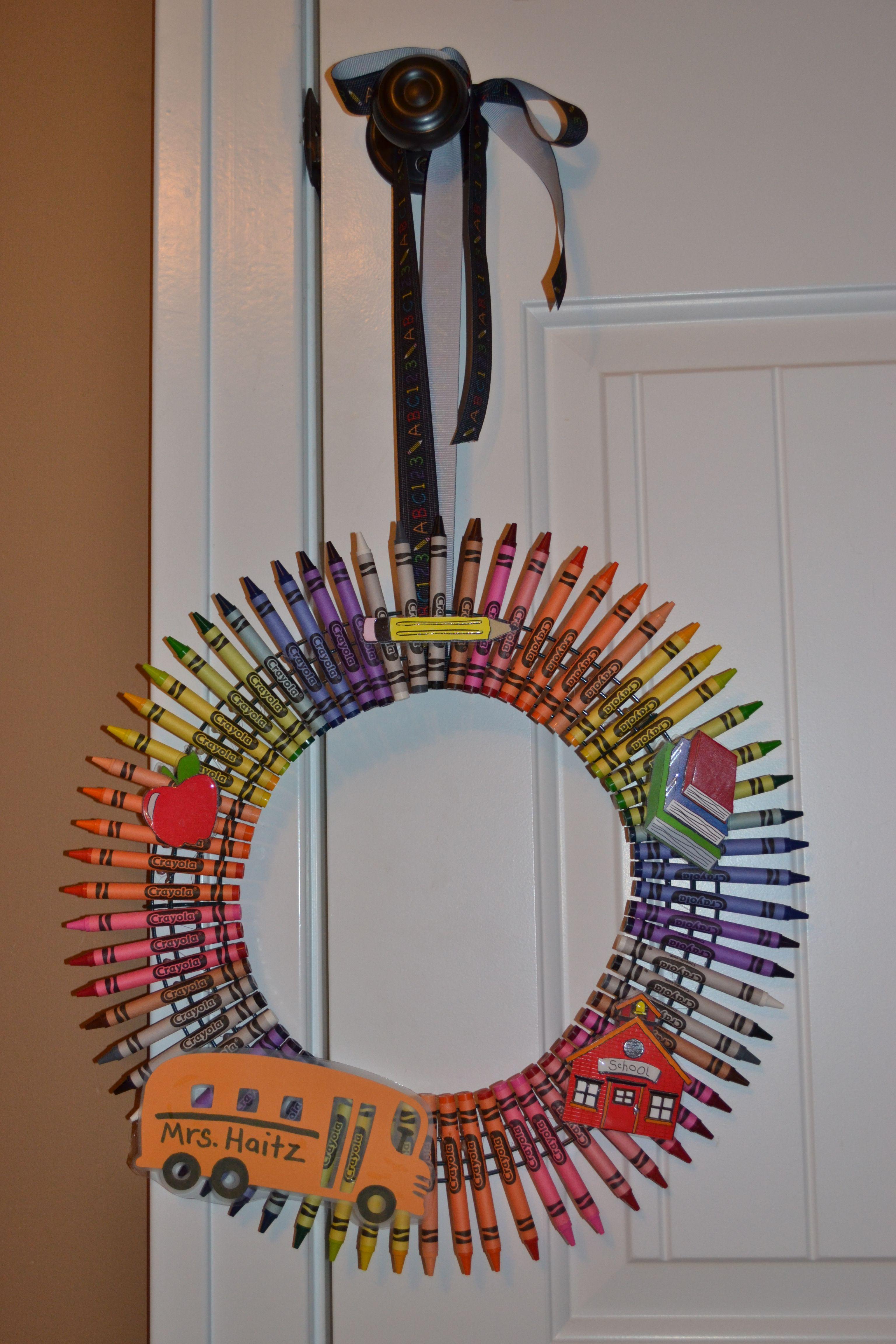 Collin\'s kindergarten teacher\'s Christmas gift   Getting creative ...