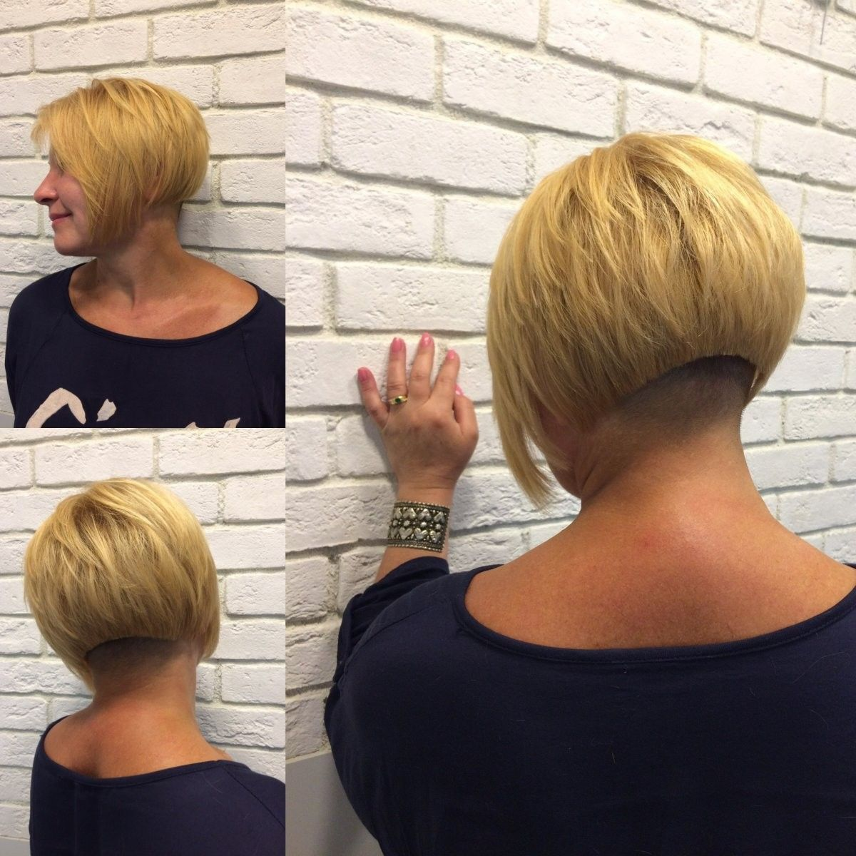 Nacken frisuren undercut Frisuren Mit