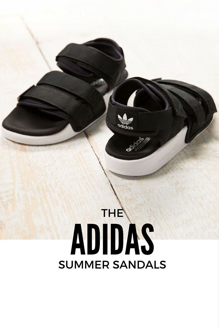 best service fd113 8fdd1 These adidas velcro sandals have got you covered