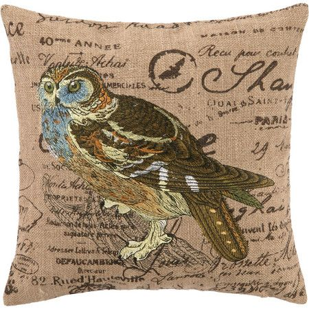 Blue Owl Pillow: Joss and Main | Thanks Lovely Pillows ...