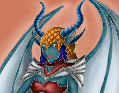"Check out new work on my @Behance portfolio: ""Dragon Girl"" http://be.net/gallery/38155393/Dragon-Girl"