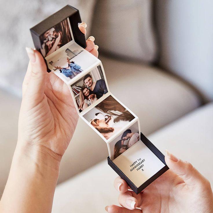 Personalisierte herausziehen Fotoalbum Token Geschenk #personalisiertegeschenke