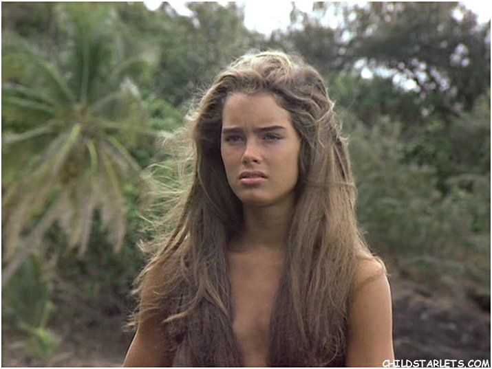 Brooke Shields desnuda en The Blue Lagoon -