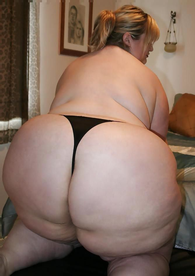 Very big fat ass! bbw amateur!