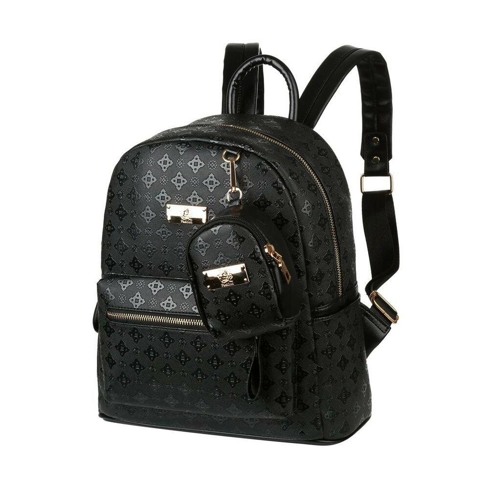 VBG VBIGER PU Leather Mini Backpack Purse Fashion Travel