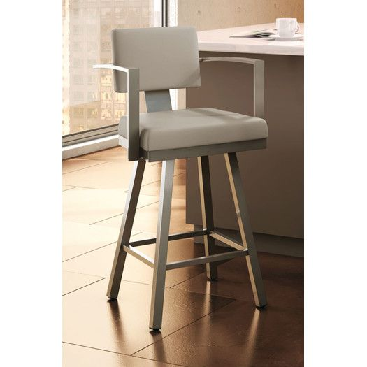 Superb Amisco Urban Style 26 25 Inches Swivel Bar Stool With Creativecarmelina Interior Chair Design Creativecarmelinacom