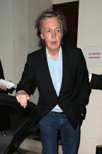 Paul McCartney Seen On A Night Out At Loulous Members Club March 14 2018